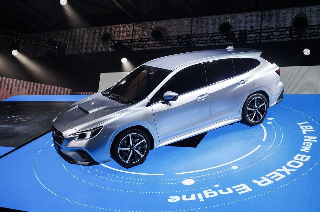Subaru Levorg Prototype。  記者趙駿宏/攝影