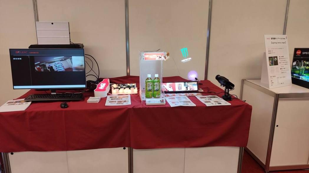 正能光電與LED低溫照明大廠「華興集團華能光電」合作在東京內覽會展示。正能光電/...