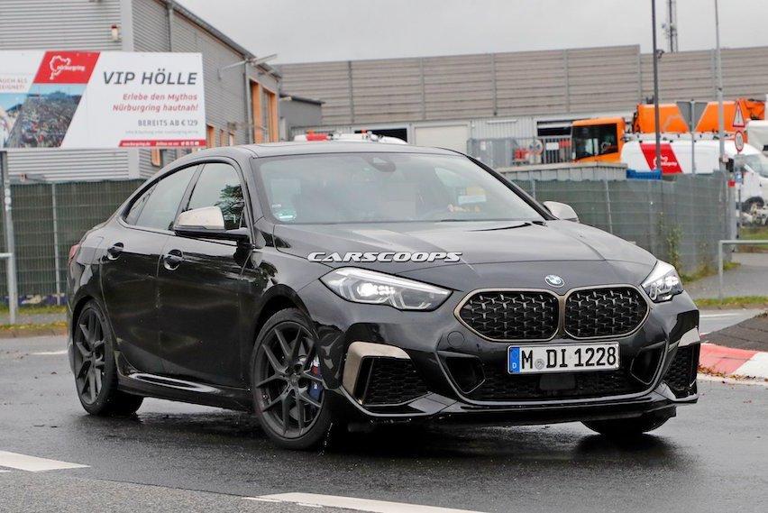 全新BMW M235i xDrive Gran Coupe無偽裝捕獲 都發表了還要測試什麼?
