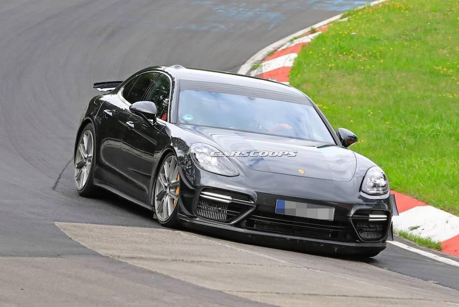 暴力版本的Porsche Panamera再度繞行紐伯林 得到令人咋舌的成績!