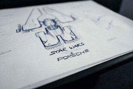 Porsche保時捷太空戰機將於《星際大戰9:天行者的崛起》中發表!