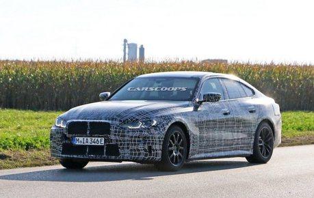 全新BMW i4偽裝路試捕獲 全車已近量產規格