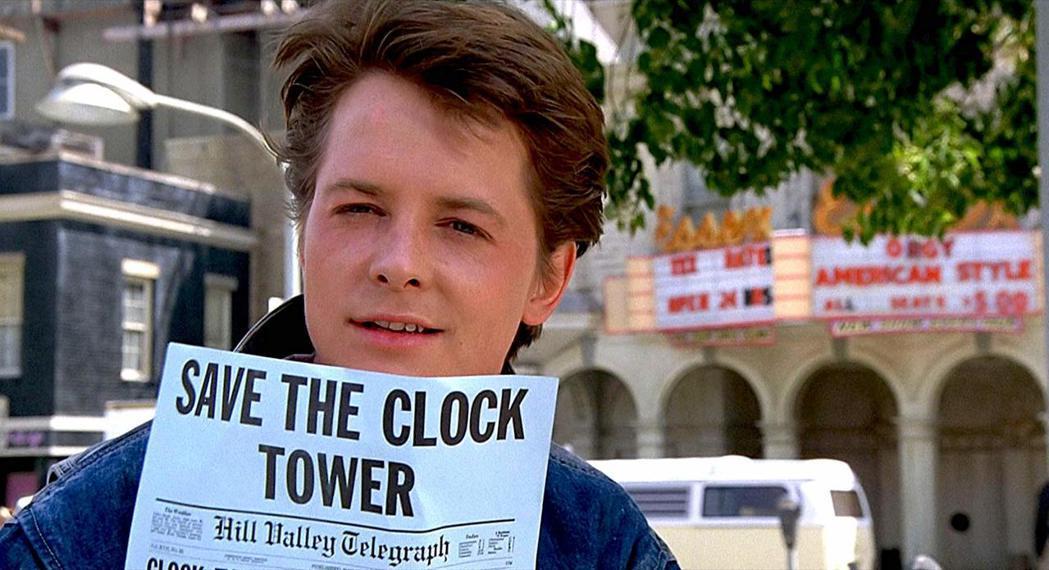 米高福克斯演「回到未來」時已23歲,仍然可以讓觀眾相信他是個高中生。圖/摘自im