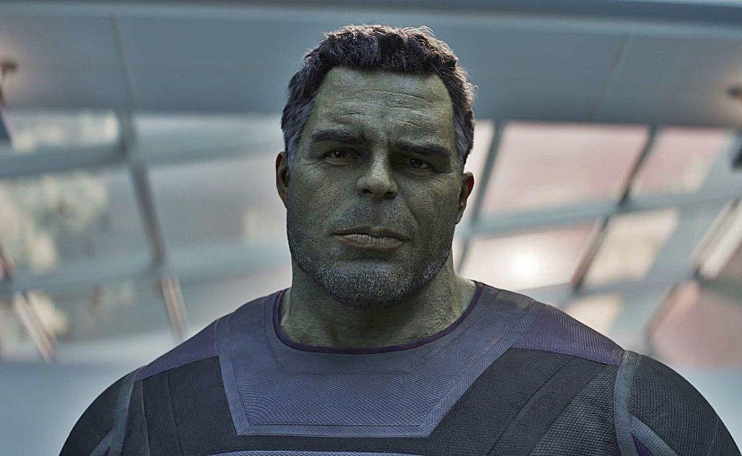 綠巨人浩克在「復仇者聯盟:終局之戰」有精彩表現。圖/摘自推特