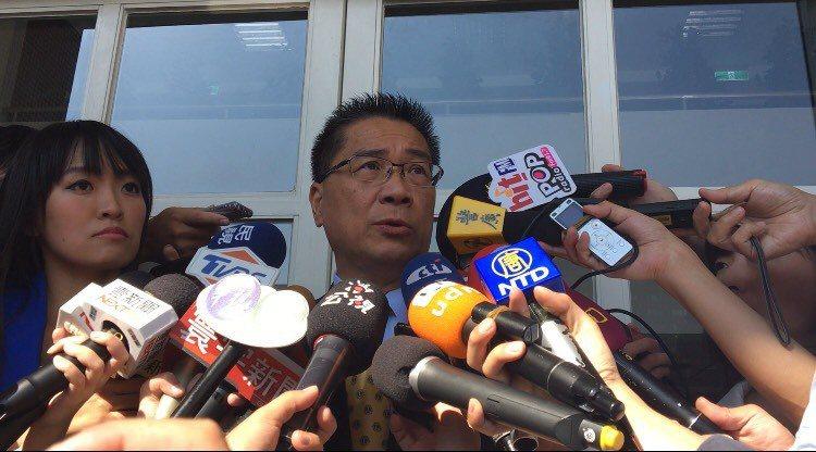 內政部長徐國勇表示,陳同佳可以明天就來,我們立即偵辦。記者林孟潔/攝影