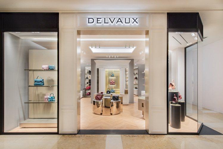 DELVAUX新光三越中港店全新開幕,為品牌在台灣的第2家專門店。圖/DELVA...