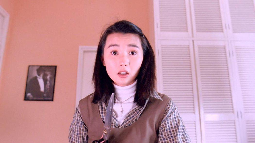 張曼玉也曾在「家有囍事」諧仿瘋狂護士這角色。圖/摘自imdb