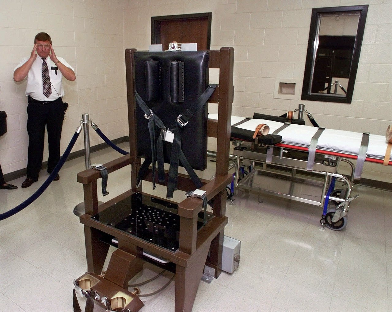 田納西州有三名死囚過去一年選擇坐電椅處死。(美聯社)