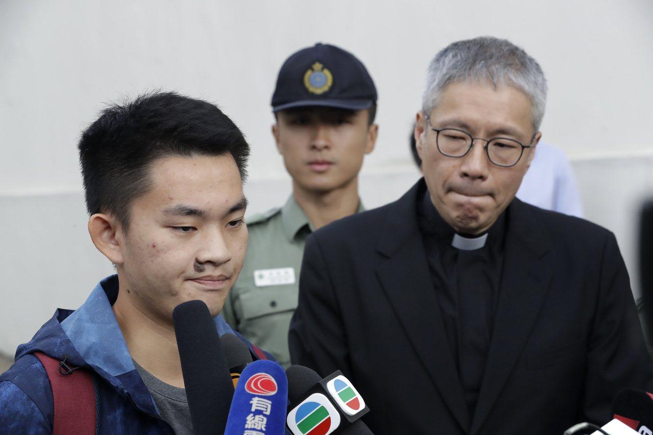 香港島教區25日公布香港島教區繼承主教的三名候選人,其中一名候選人為管浩鳴。圖為...