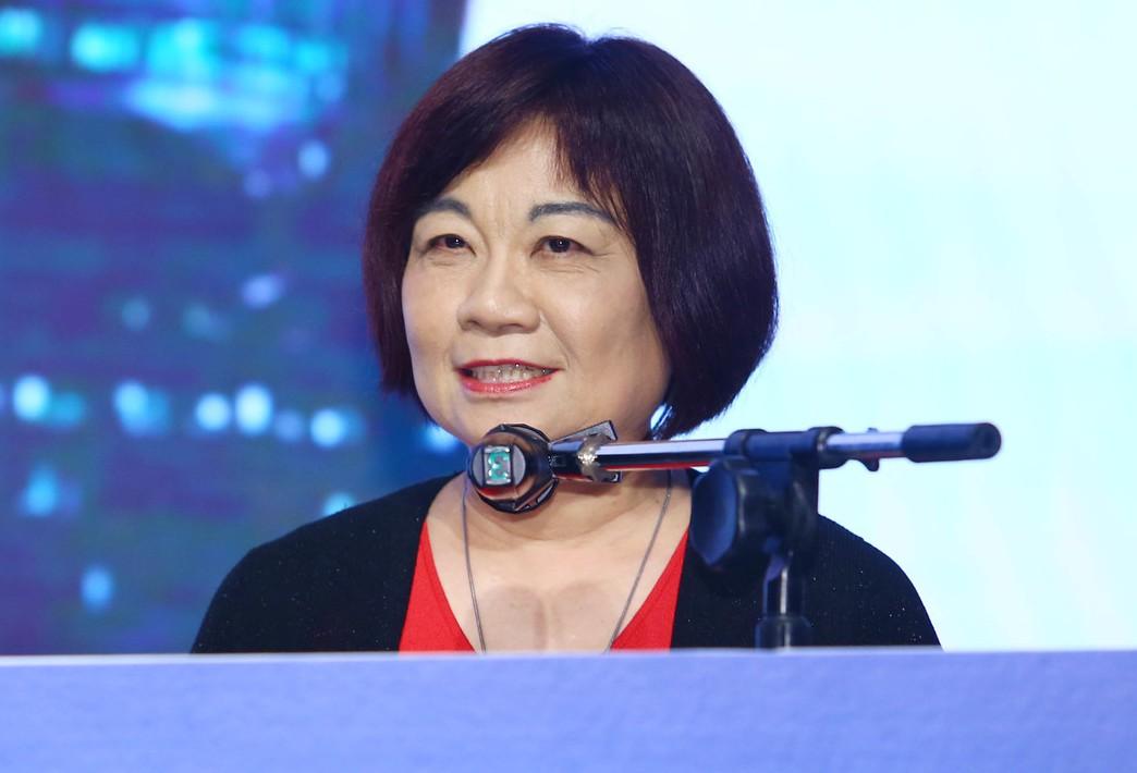 國發會主委陳美伶。聯合報系記者杜建重/攝影。