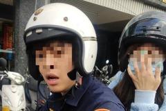 台北警公務車載女友嗆民眾!女方身分曝光「和嘎嘎交往過」