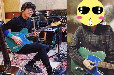Lulu(黃路梓茵)自曝目前在學吉他,還在社群問上問大家,「學木吉他好 還是電吉他呢」,不過附上的照片卻讓網友瞬間歪樓。Lulu在IG上分享在學吉他的照片,只見她戴著粗框眼鏡,即肩的短頭隨意擺動,還...
