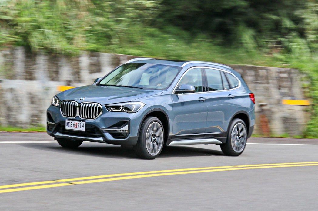 BMW X1依然維持BMW車系優異的操控實力。 記者陳威任/攝影