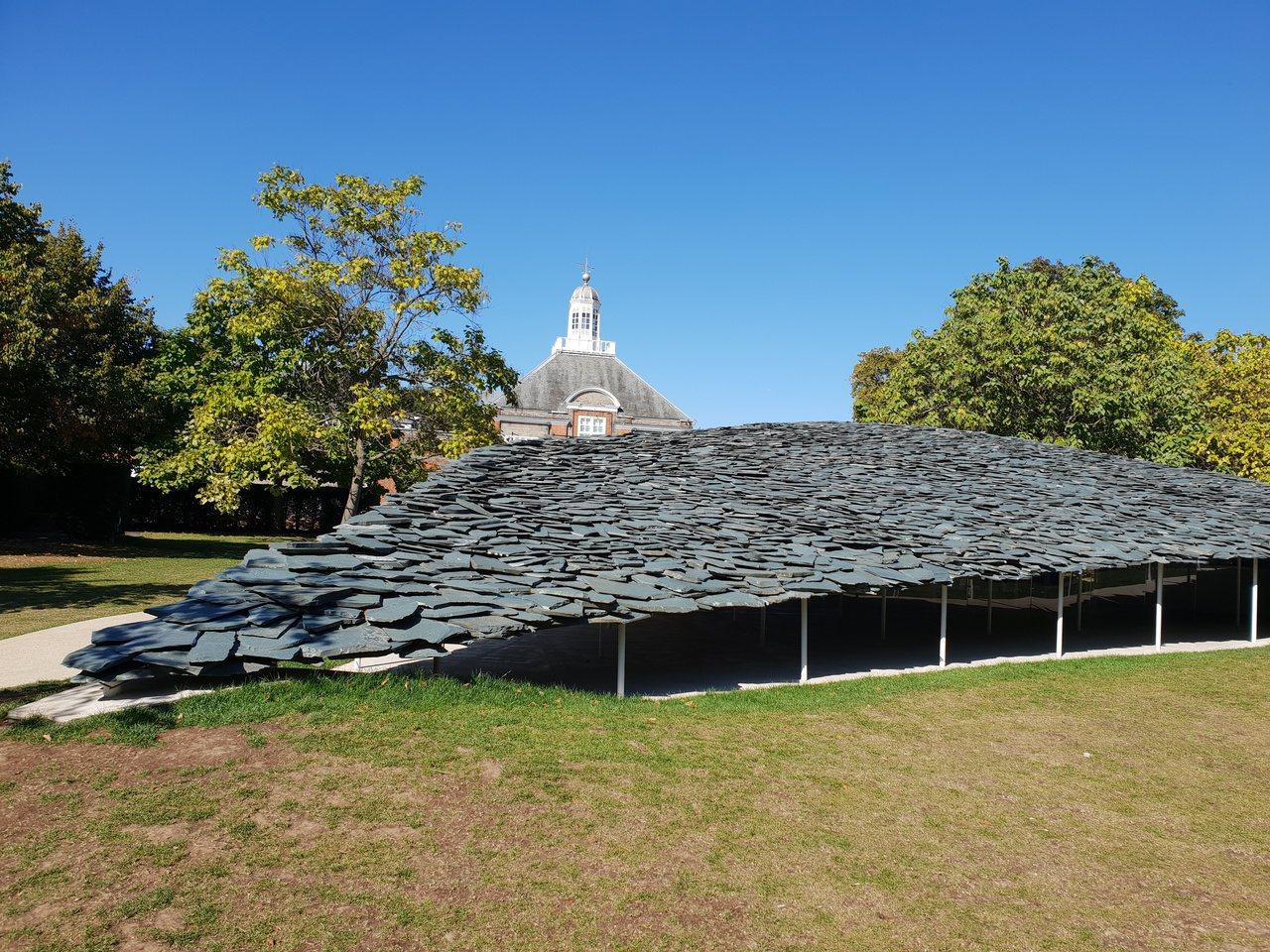 X-site計畫是北美館的實驗建築計畫,靈感源自倫敦肯辛頓公園內的蛇形藝廊。圖為...