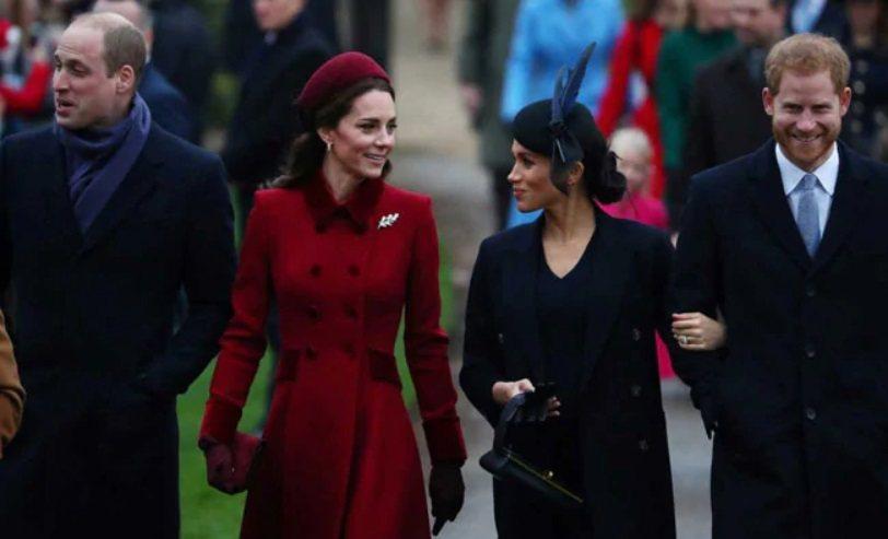 英國兩位王子夫婦之間的互動,是公眾矚目焦點。圖/路透資料照片