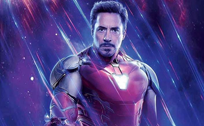 小勞勃道尼飾演「鋼鐵人」東尼史塔克。圖/摘自推特