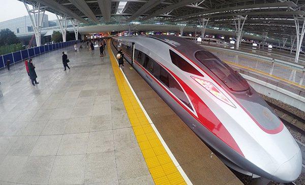 京滬高鐵。新華社資料照片
