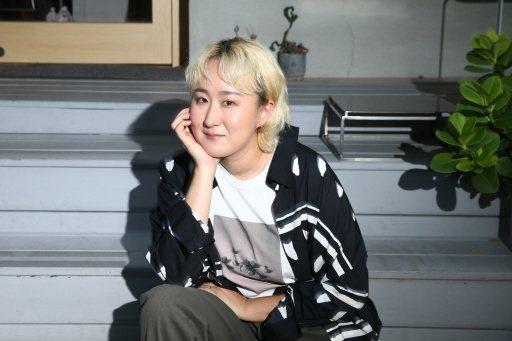 鮮于貞娥未來想製作電影配樂。記者蘇健忠/攝影