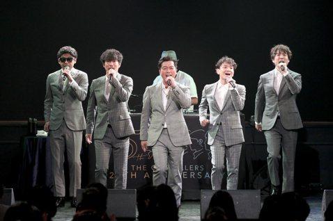 日本美聲團體「The Gospellers 聖堂教父」今晚在台灣舉辦「The Gospellers Live in Taipei 2019」演唱會,慶祝出道25周年。距離上次來台已經相隔快15年,不...