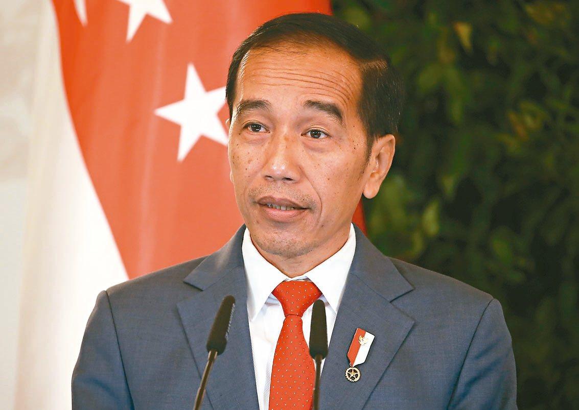 印尼總統佐科威。 (歐新社)