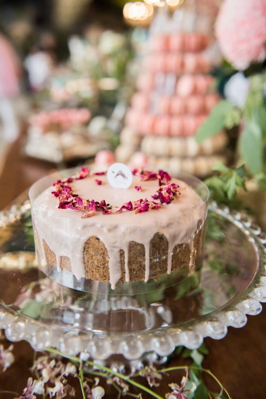 牙子的彌月蛋糕。圖/Lefruta朗芙提供