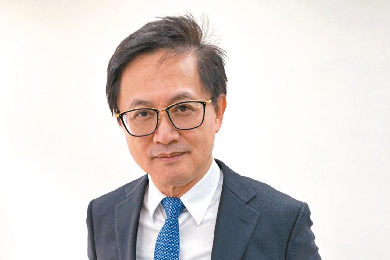 電腦公會理事長。記者蕭君暉/攝影