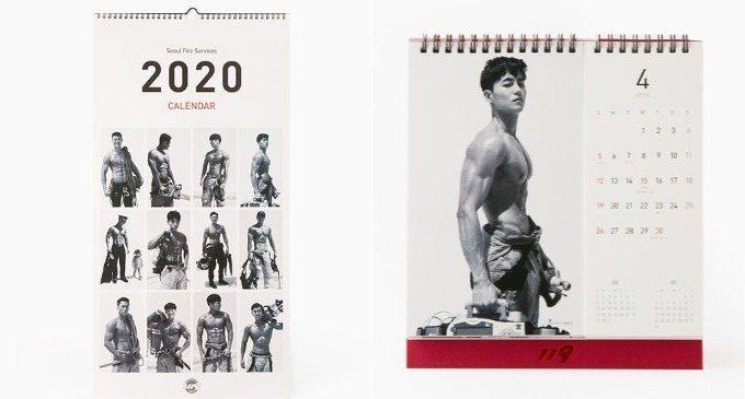 月曆有桌曆式和掛曆式兩種選擇,大家可以依照個人喜好購買。圖/擷自10X10官網