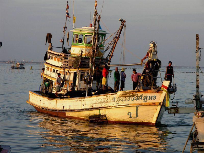 美國認為泰國漁業勞權改善進步不佳,決定取消泰國漁業出口美國的貿易優惠。(Phot...