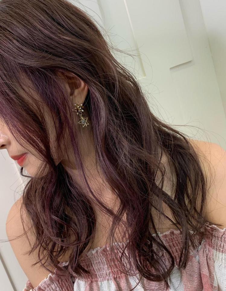 髮型創作/空气概念 二館 / YOONA。圖/StyleMap美配提供