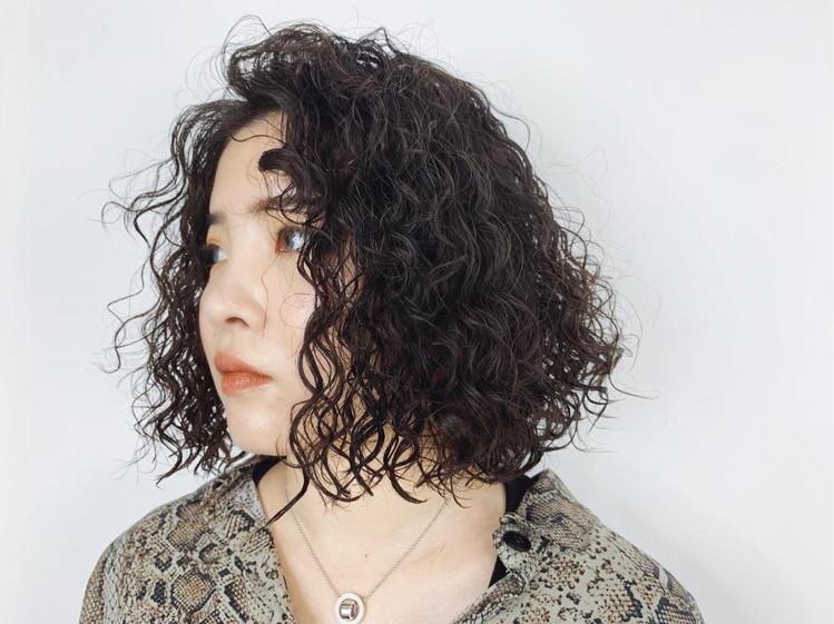 髮型創作/禧歡 / Code Chang。圖/StyleMap美配提供