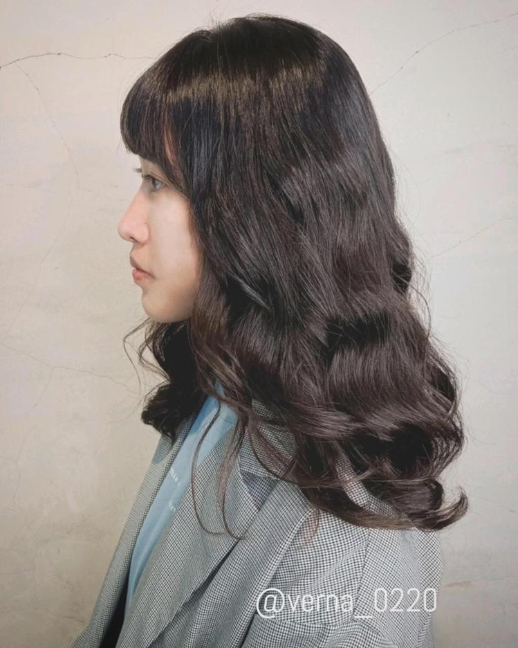 髮型創作/Return salon / Verna Wu。圖/StyleMap美...