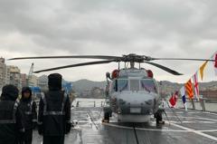海巡4000噸新艦 海鷹反潛機、黑鷹直升機可駐艦
