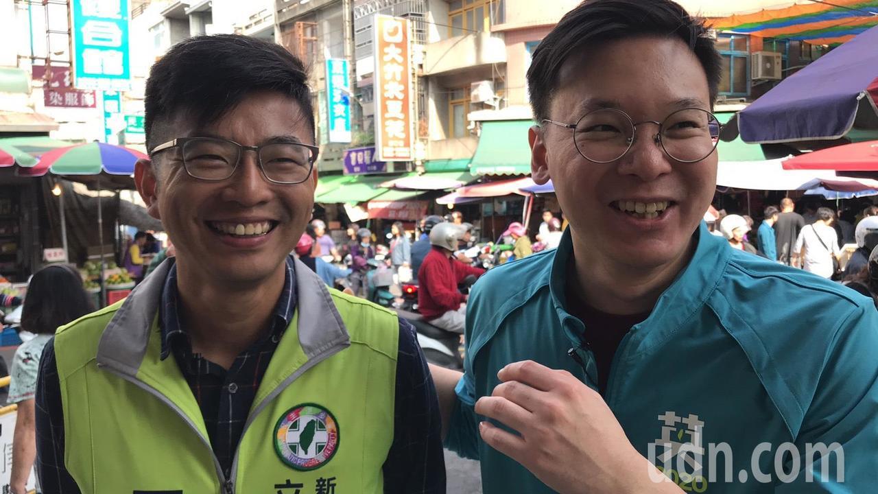 林飛帆則說,竹縣一選區是一個不容易的選區,周江杰是他在中央黨部的同事,也是很優秀...