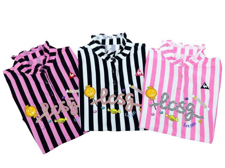 le coq sportif Golf女款長POLO衫(共三色),各4,890元...