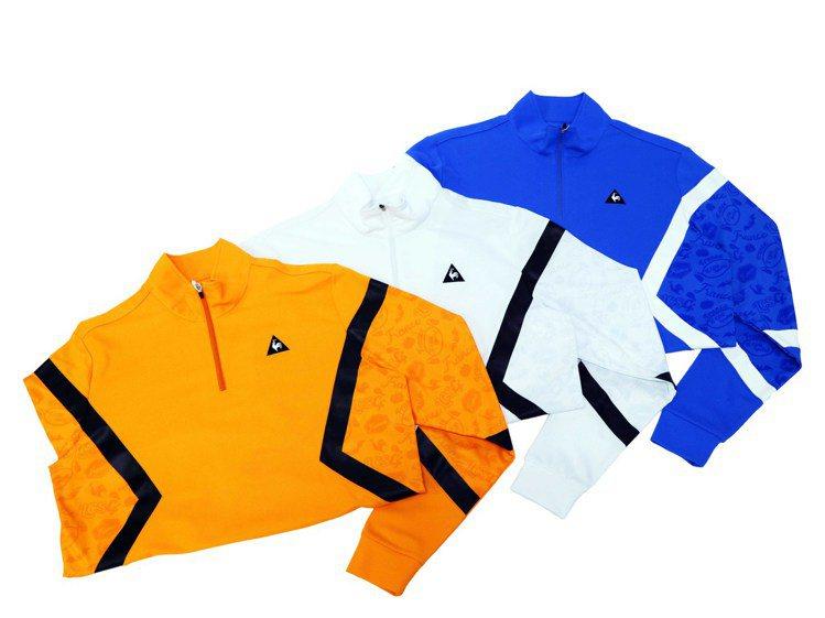le coq sportif Golf男款立領POLO衫(共三色),各4,890...