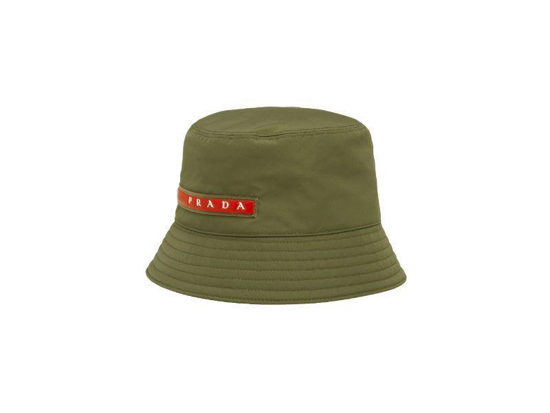 Linea Rossa系列秋冬漁夫帽。圖/Prada提供