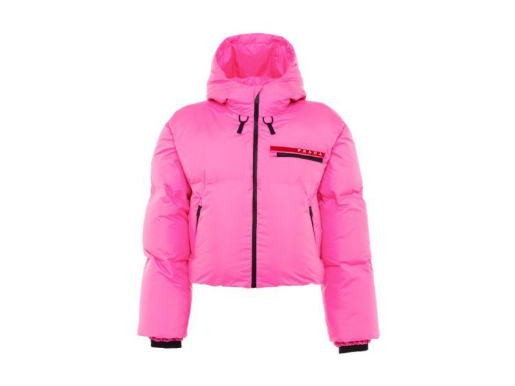 Linea Rossa系列秋冬外套。圖/Prada提供