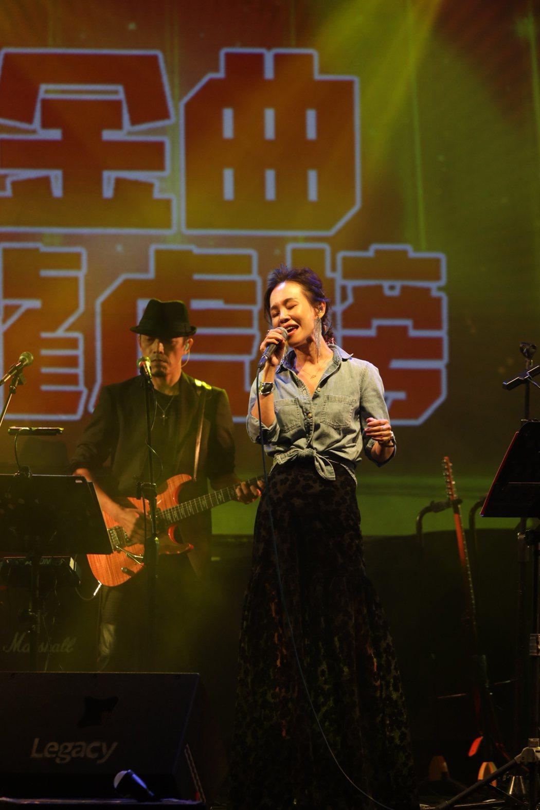 彭佳慧(Julia)26日於華山Legacy舉辦「2019都市女聲演唱會」。圖/
