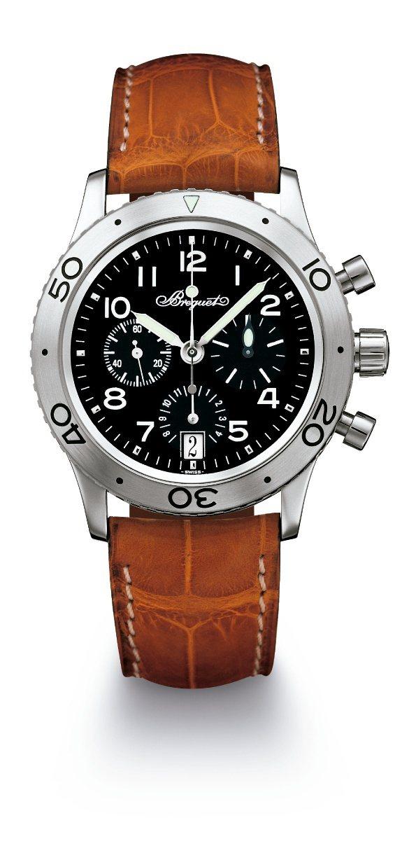 寶璣Type XX 3820計時碼表,不鏽鋼表殼搭載582 Q自動上鍊計時機芯,...