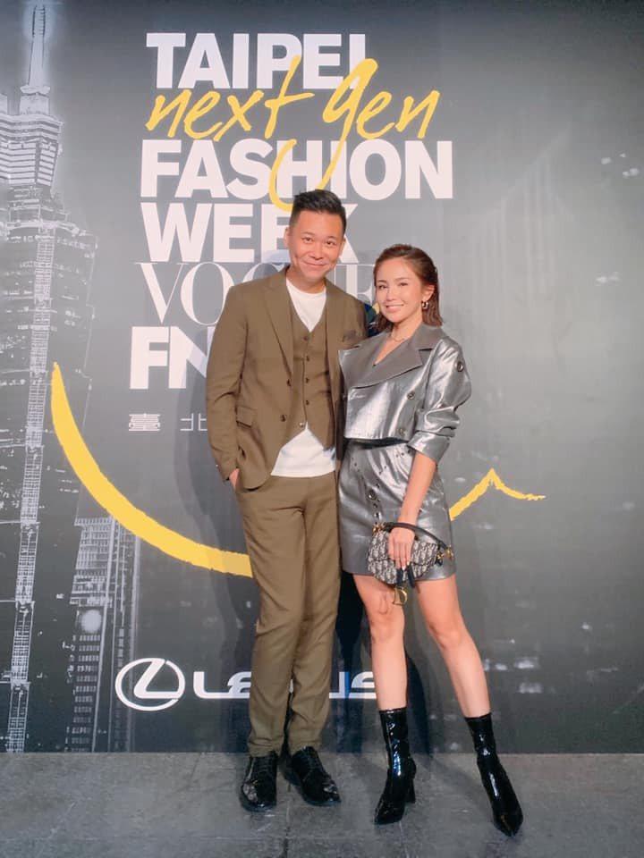 鍾欣怡(左)和孫樂欣年初爆出婚姻危機。圖/摘自臉書