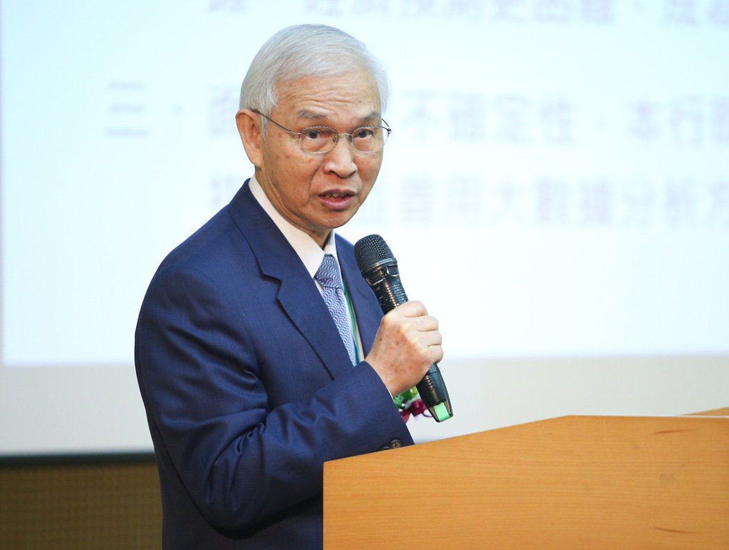 央行總裁楊金龍。記者余承翰/攝影
