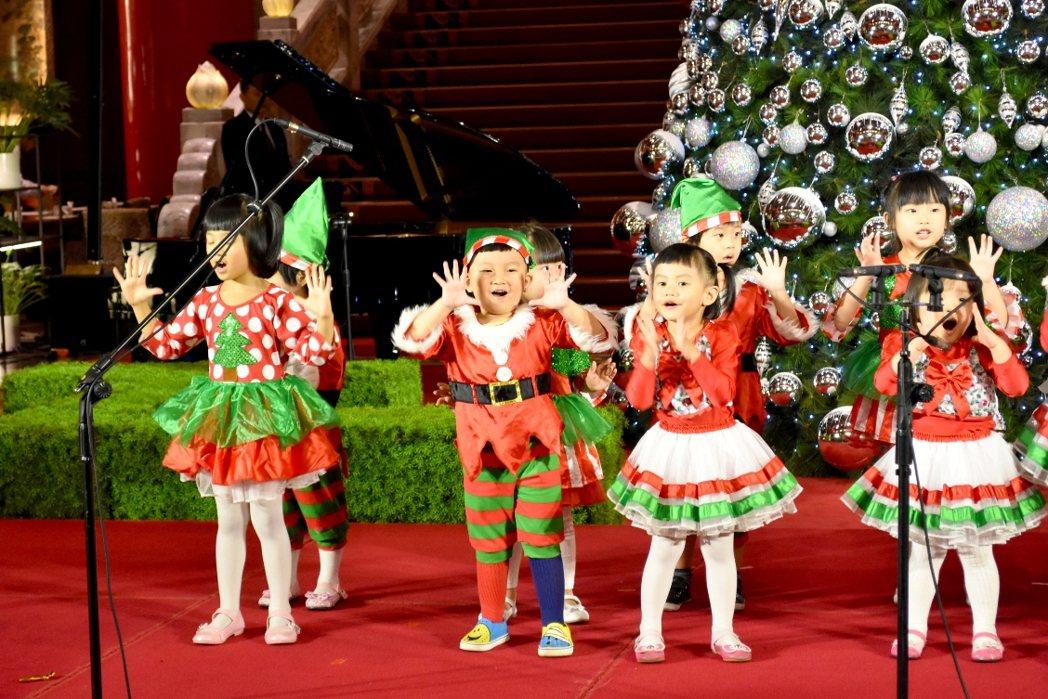 圓山聖誕音樂季小星星合唱團。圓山大飯店/提供