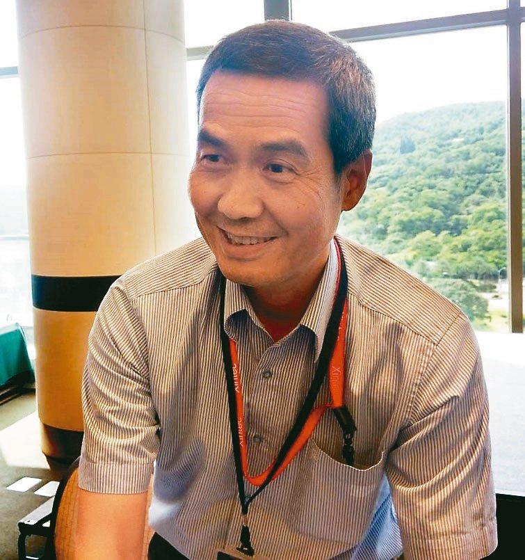 精材董事長陳家湘。 圖/聯合報系資料照片