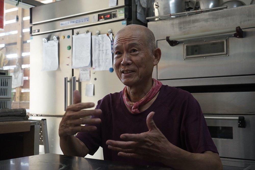 69歲的林將,一說到運動,眼神亮晶晶像個大男孩。 記者王燕華/攝影