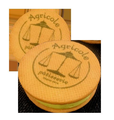 神戶ORIGINE KOBE帶來人氣甜點「AGURI奶油三明治」,260元。圖/...