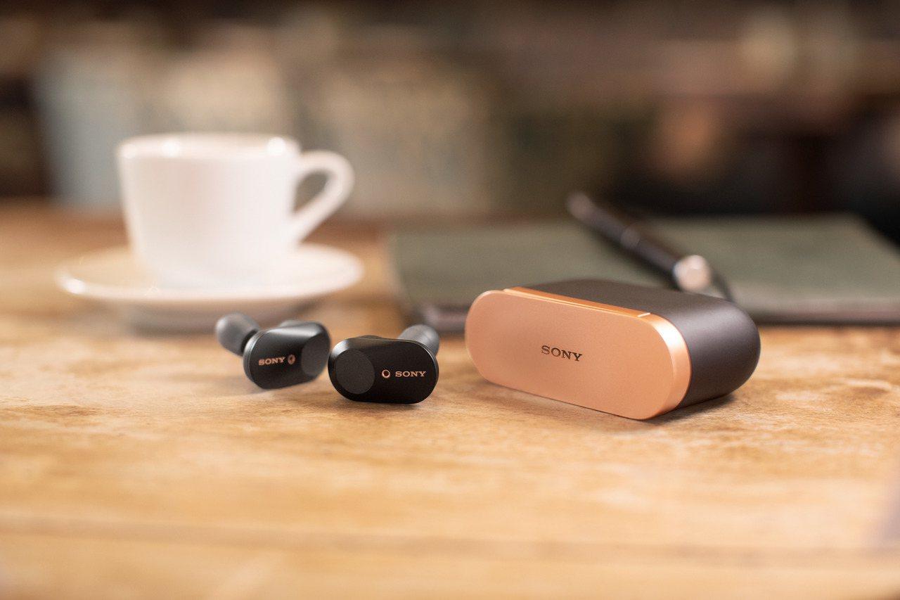 Sony WF-1000XM3真無線主動式降噪耳機,建議售價7,490元。圖/S...