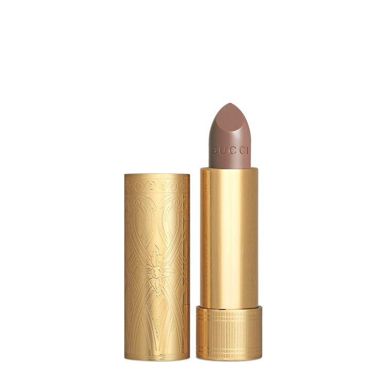 熱賣的絲緞#204 Peggy Taupe佩綺銅眸。圖/GUCCI提供