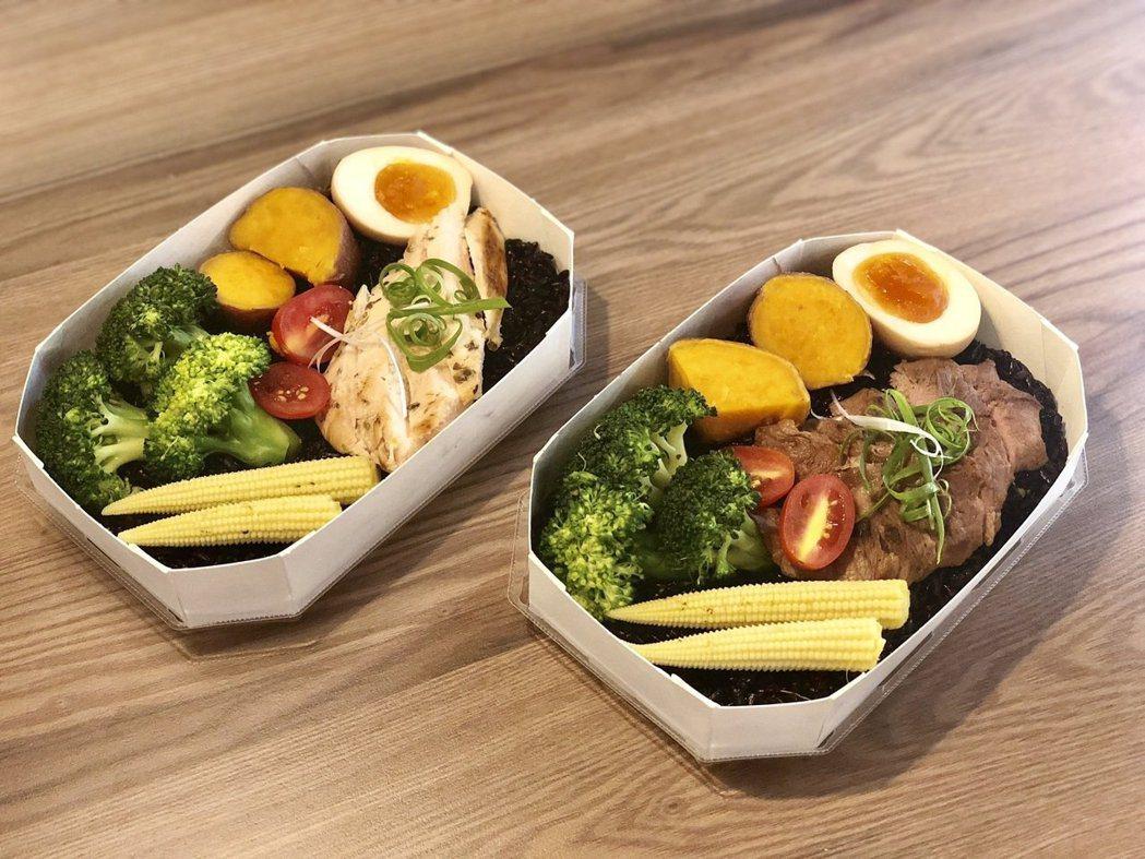 許多業者推出主打「水煮」的健身餐吸引減肥民眾,但營養師提醒小心減出問題。圖/本報...