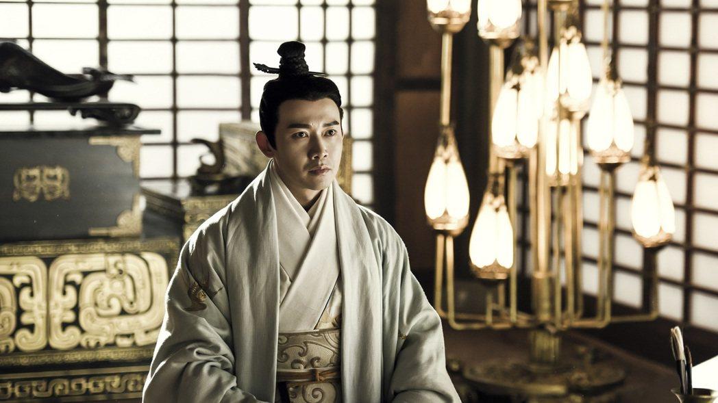 聶遠在「皓鑭傳」中詮釋呂不韋。圖/八大提供