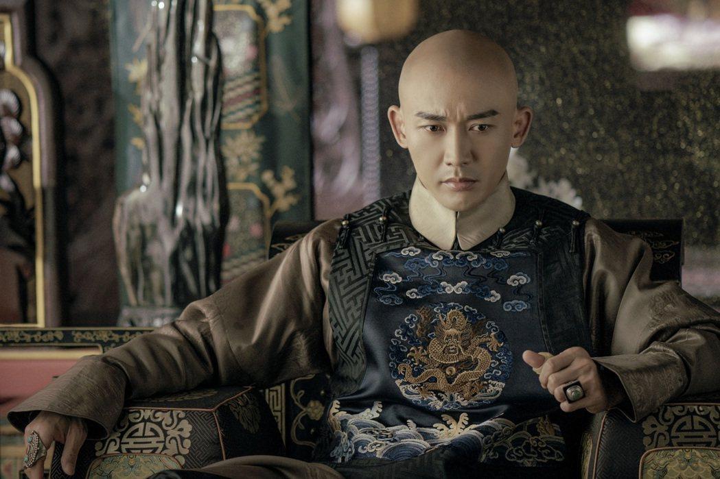 聶遠在「延禧攻略」中詮釋乾隆皇。圖/八大提供
